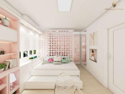 Dormitório da Bailarina: Quarto infantil  por iost arquitetura