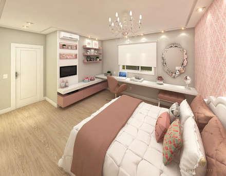 Dormitório de Princesa: Quartos  por iost arquitetura