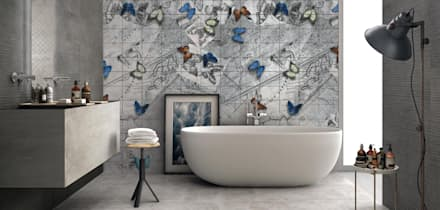 colonial Bathroom by Massimiliano Toniol