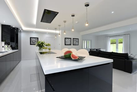 Cheshire Kitchen Modern By Diane Berry Kitchens