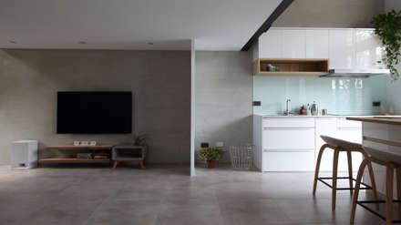 07:  客廳 by 樂沐室內設計有限公司