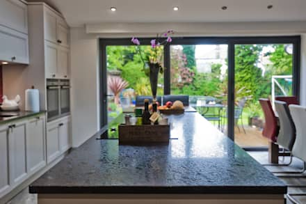 Cheadle, Cheshire: colonial Kitchen by Chrome Studios