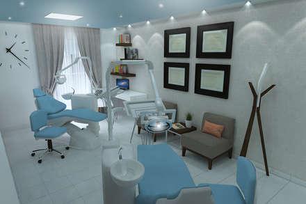 Clínicas de estilo  por Residenza by Diego Bibbiani