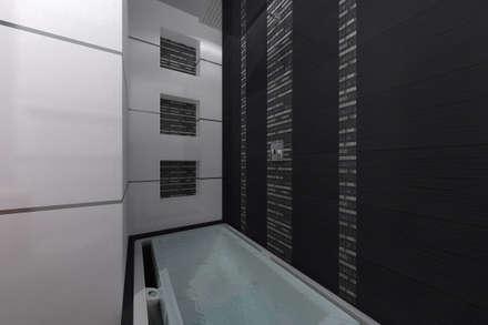 BAÑO : Baños de estilo  por Residenza by Diego Bibbiani