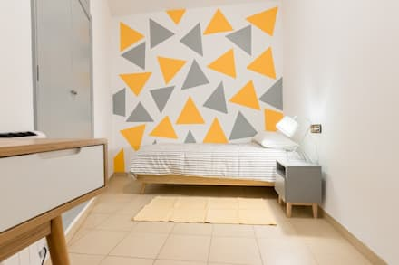Dormitorio infantil: Dormitorios infantiles de estilo moderno de eM diseño de interiores