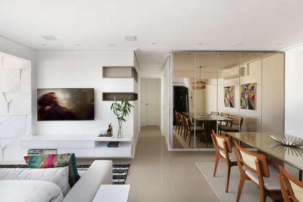 Apartamento Tatuapé - SP: Salas de jantar modernas por Antonio Armando Arquitetura & Construção