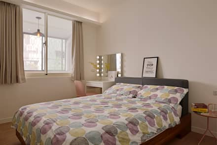 誰偷了下午的時光:  臥室 by 釩星空間設計