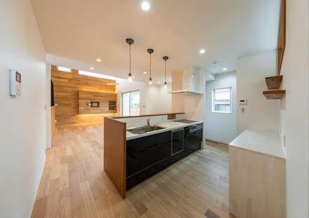姫路市広畑区の家: 中村建築研究室 エヌラボ(n-lab)が手掛けたキッチンです。