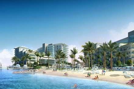 Projectos de Arquitectura : Espaços comerciais  por ECOSSISTEMAS; Áreas Verdes e Sistemas de Rega.