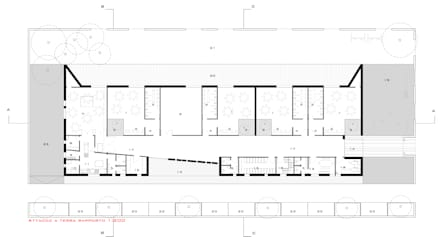 Scuola materna Vanzaghello (MI): Scuole in stile  di ACA Atelier Alessandro Cintolo Architects