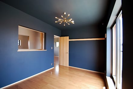 s邸 - トリコム -: Ju Design 建築設計室が手掛けた寝室です。