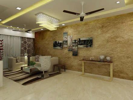 Living Room: minimalistic Living room by A Design Studio