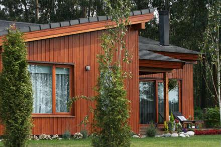 RUSTICASA | Casa unifamiliar | La Coruña: Casas de madeira  por Rusticasa