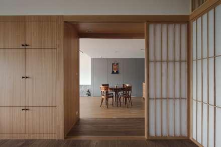 北投陳宅:  窗 by 直方設計有限公司