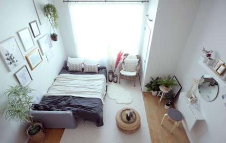 modern Living room by 노르딕앤