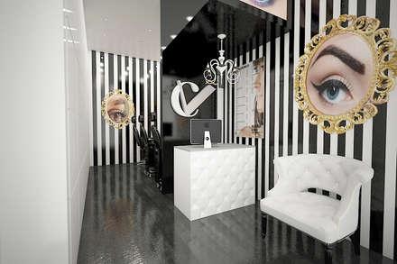 Projecto 3D da loja: Lojas e espaços comerciais  por Espaços Renovados