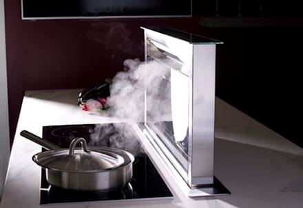 Downdraft Extractor: country Kitchen by Urban Myth