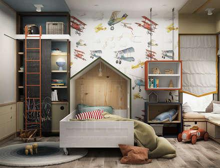 Воздух: Детские комнаты в . Автор – he.d creative group