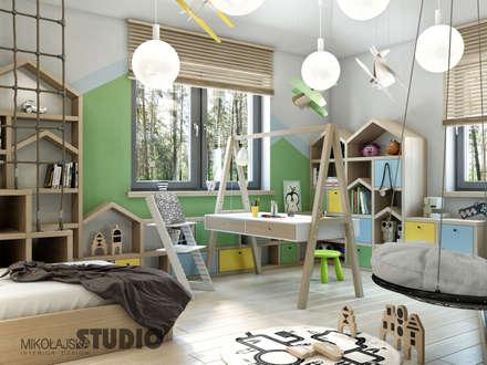 pok j dzieci cy pomys y aran acje wn trz zdj cia homify. Black Bedroom Furniture Sets. Home Design Ideas