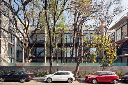 CBZ 30 Condesa- Ciudad de México: industrial Houses by Hb/arq