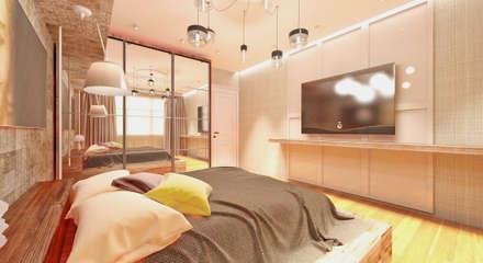 50GR Mimarlık – Bakırköy_ev: modern tarz Yatak Odası