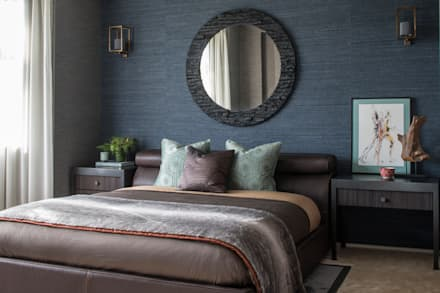 Broad Walk Guest Bedroom: Modern Bedroom By Roselind Wilson Design