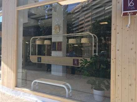 """ACADEMIA DE INGLES """"NUMBER 16"""" GOMEZ LAGUNA, ZARAGOZA: Escuelas de estilo  de Ismael Belles Interiorismo"""
