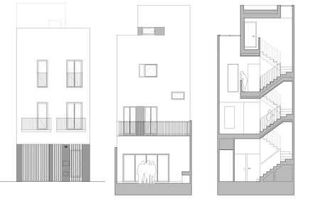 Casa CC: Casas de estilo ecléctico de diecisietemastres · procesos de arquitectura, diseño e identidad