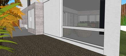 Casa NC: Ventanas de estilo  por Development Architectural group