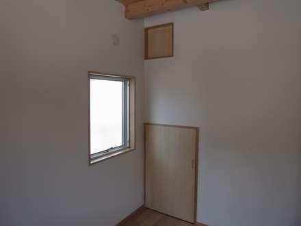 開口: ジュウニミリ建築設計事務所が手掛けた書斎です。