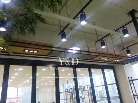 피트니스 조명 구조물: 와이앤디자인의  피트니스