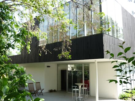 Casa Infanti : Casas de estilo minimalista por Claudia Tidy Arquitectura