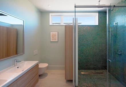 : modern Bathroom by Solares Architecture
