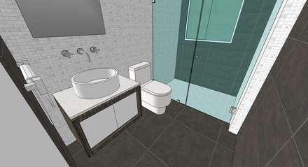 ห้องน้ำ by MARATEA Estudio
