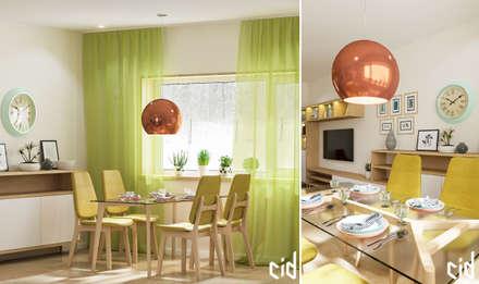 Дом с современном стиле: Столовые комнаты в . Автор – Center of interior design