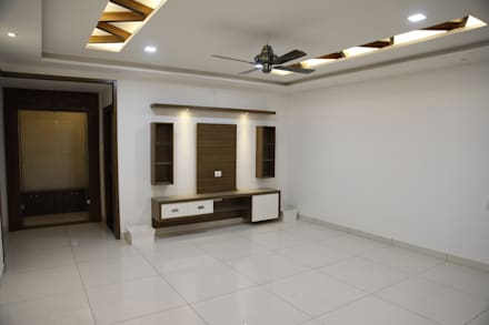 asian Living room by Scale Inch Pvt. Ltd.