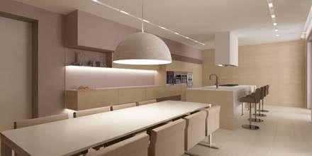 Коттедж «ЭКО»: Столовые комнаты в . Автор – ART Studio Design & Construction