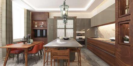 Апартаменты «НЬЮ-ЙОРКСКИЙ ШИК»: Столовые комнаты в . Автор – ART Studio Design & Construction