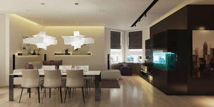 Апартаменты «SAHALIN»: Столовые комнаты в . Автор – ART Studio Design & Construction
