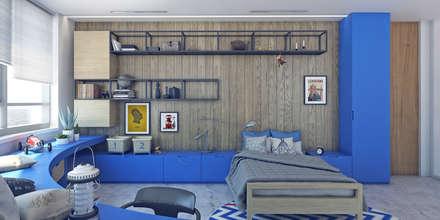 Апартаменты «GRAPH ORLOV»: Детские комнаты в . Автор – ART Studio Design & Construction