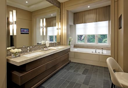 Master Ensuite: modern Bathroom by Douglas Design Studio