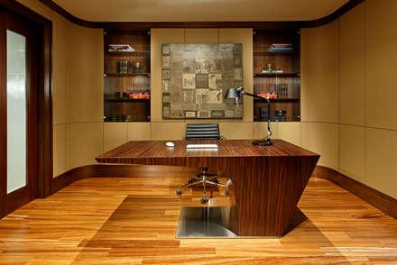 Office: modern Study/office by Douglas Design Studio