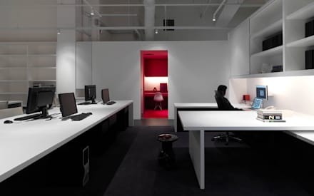 Barcode Office:  Offices & stores by MinistryofDesign