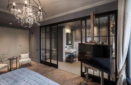 Bedroom: industrial Bedroom by Hampstead Design Hub