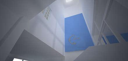 Townhouse Renovation:  ห้องทานข้าว by SDofA Architect
