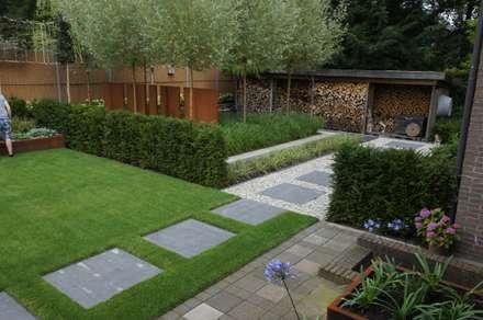 Tuin design idee n inspiratie en foto 39 s homify for Beeld tuin modern