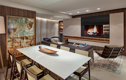 modern Dining room by CLS ARQUITETURA