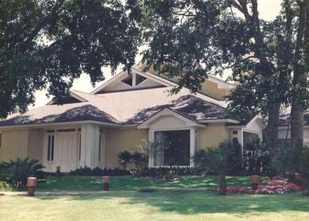 CASA - Campo Grande: Casas campestres por CABRAL Arquitetos