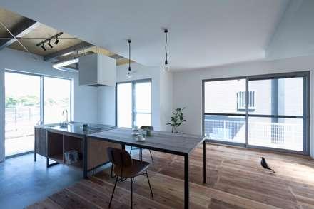 yasu-house-renovation: ALTS DESIGN OFFICEが手掛けたダイニングです。