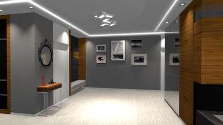 Hol wejściowy: styl , w kategorii Korytarz, przedpokój i schody zaprojektowany przez CREATIVE DESIQN